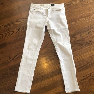 AG Stilt White Ankle Denim- 26